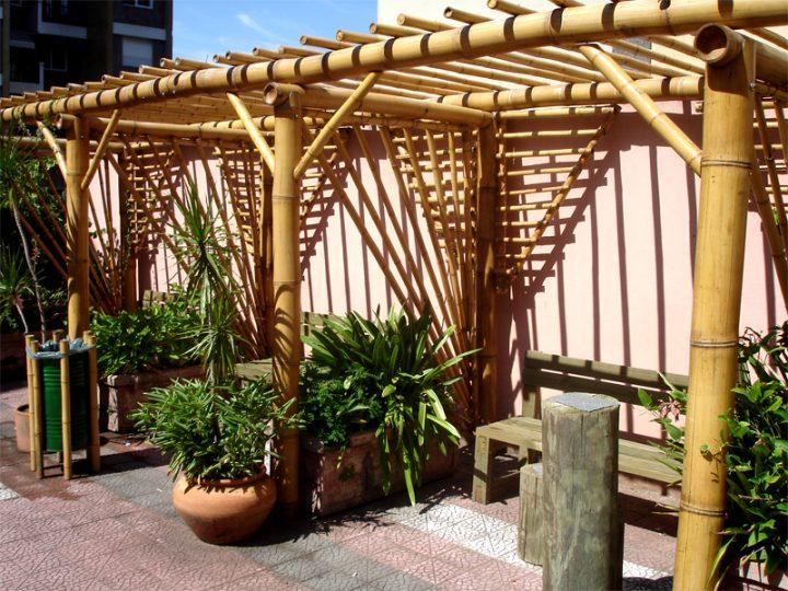 Pergola-de-Bambu
