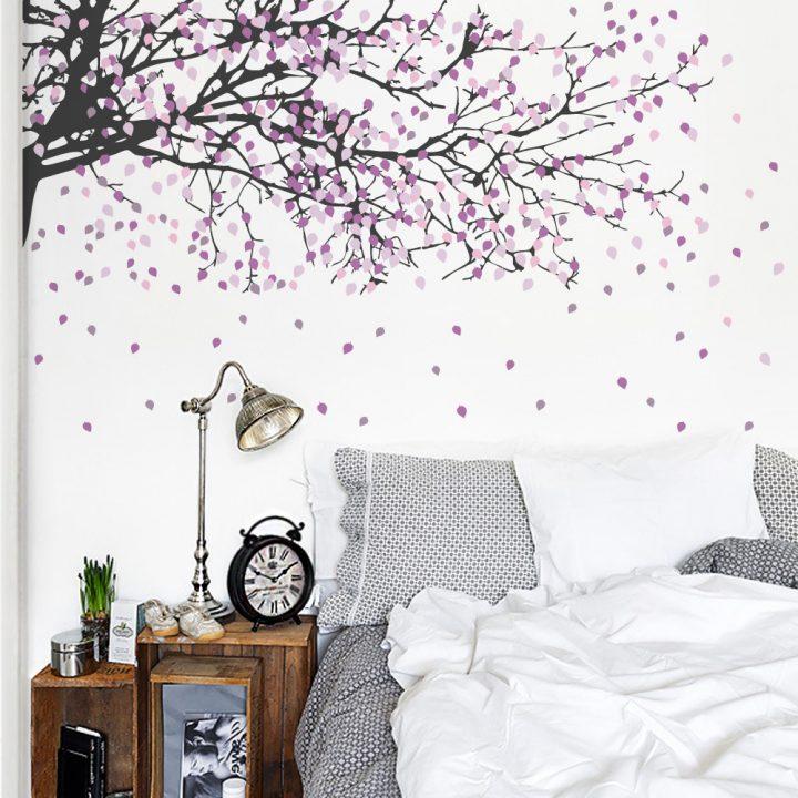 Adesivo de parede decoração prática e econômica ~ Adesivos De Parede Para Quarto Galhos