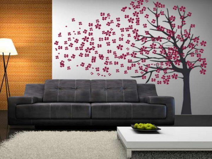 Aparador Wahl É Bom ~ Adesivo de parede decoraç u00e3o prática e econ u00f4mica