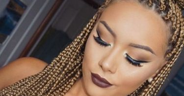 Box braids loiro