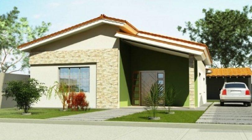 Fachada de casa dicas para criar ou reformar a sua - Pintar fachada casa ...