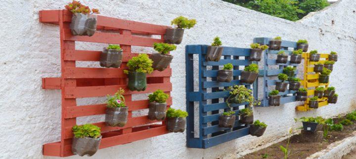 Inove nos tipos de vasos e crie um jardim exclusivo