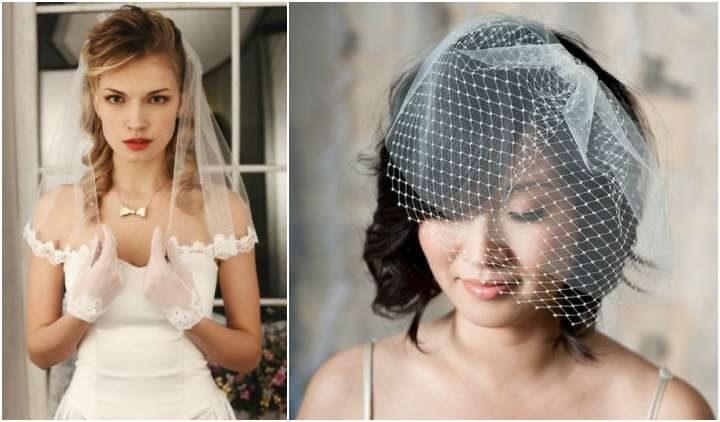 Penteados noiva com véu