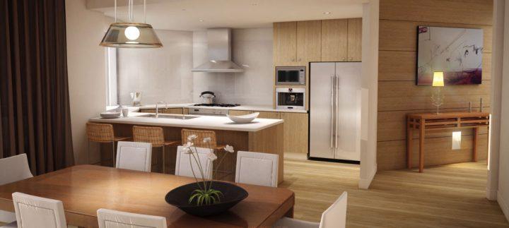 cozinha americana confira cuidados para funcionar bem. Black Bedroom Furniture Sets. Home Design Ideas