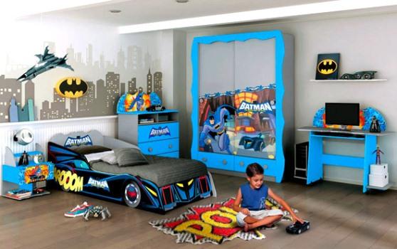 Decoração de quarto infantil masculino batman