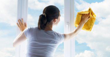 Como limpar vidros
