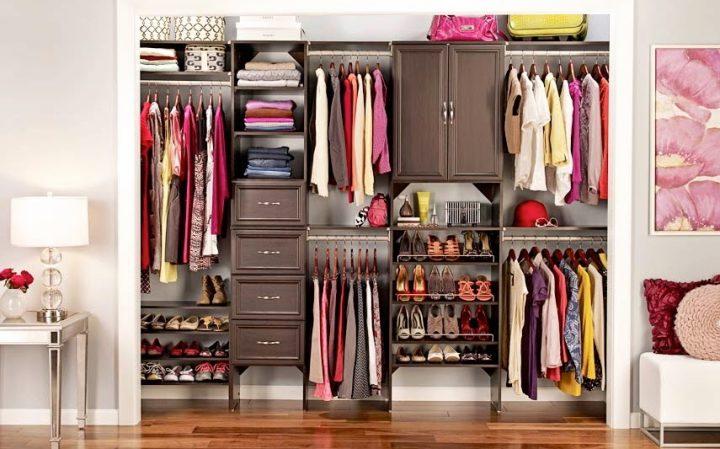 Como organizar o guarda roupa confira dicas infal veis - Organizar armarios empotrados ...