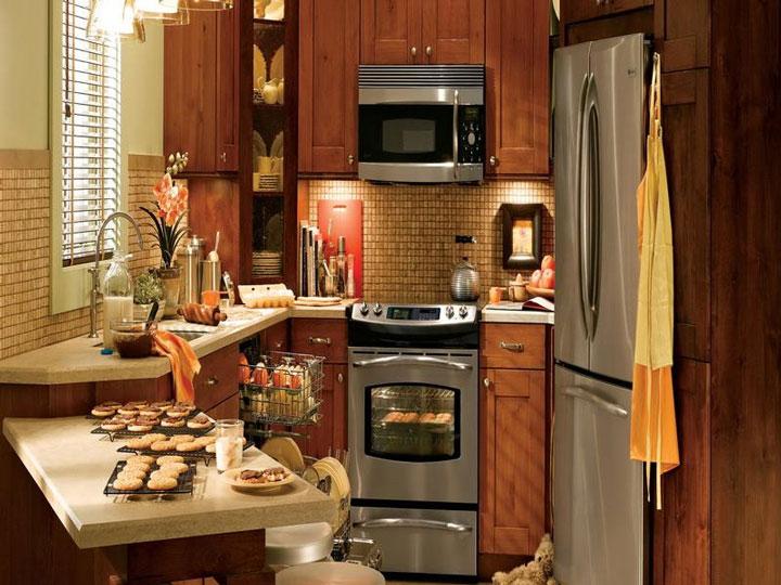 Cozinha pequena eletrodomésticos
