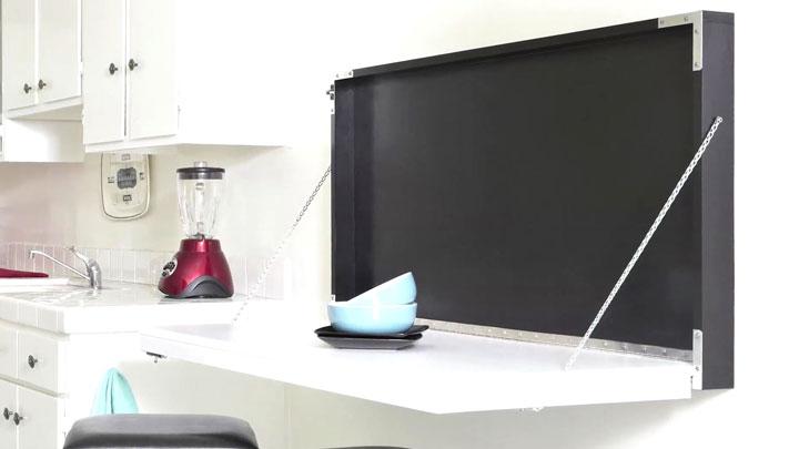 Mesa retrátil para cozinha