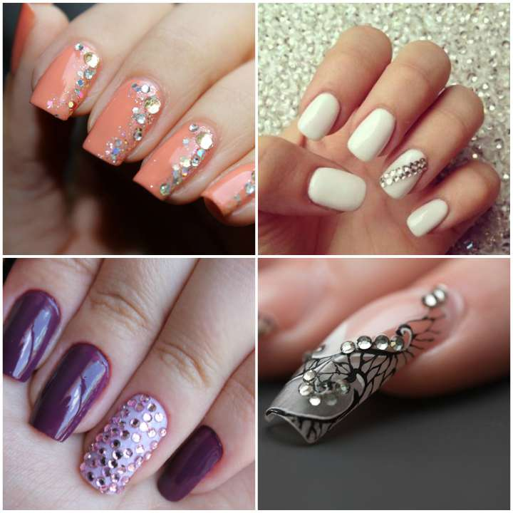 unhas-decoradas-com-strass