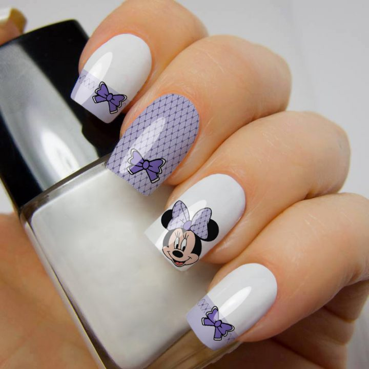 unhas-decoradas-da-minnie