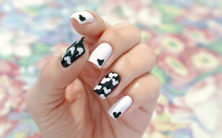 unhas-decoradas-do-mickey