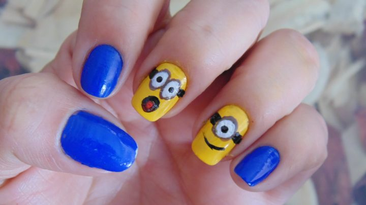 unhas-decoradas-minnions