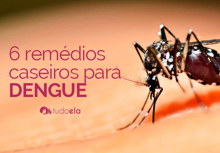 Remédios caseiros para dengue