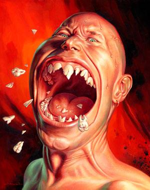 Sonhar com dente quebrado