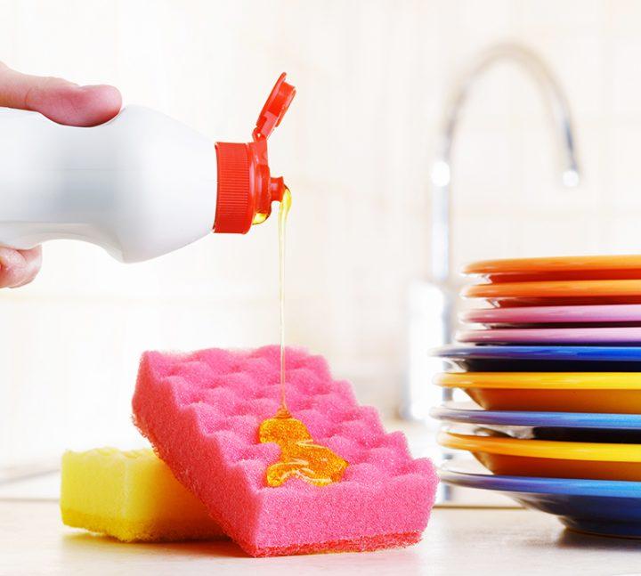 como-limpar-esponja-de-lavar-louca