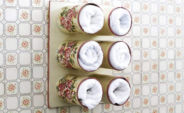 Armario Segunda Mano Tenerife ~ Artesanato com lata de leite DIY simples, bonito e barato