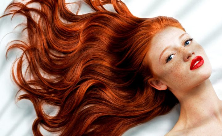 Natural Fiery Red Hair
