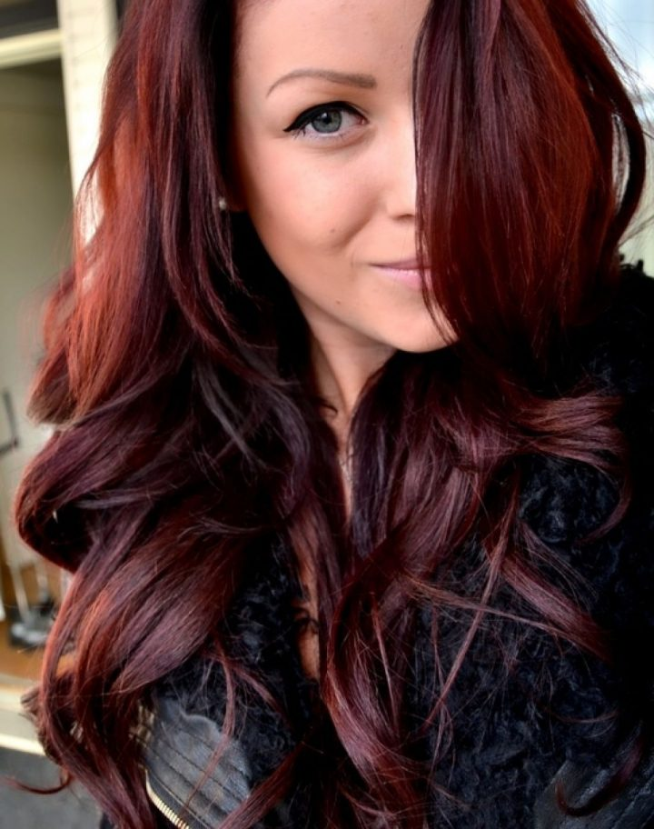 Red And Dark Brown Hair Dark Reddish Brown Hair Color With Highlights Color Ideas - Hairstyle For Women Inspirations