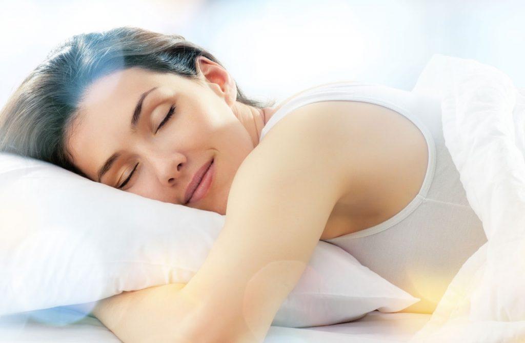 dormindo em paz
