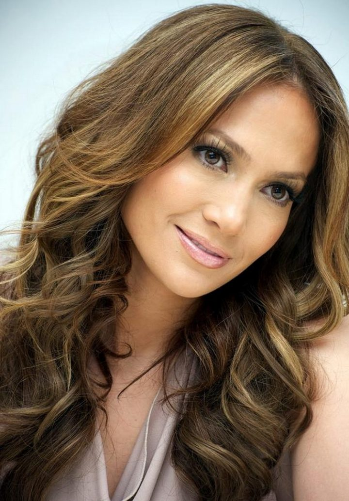 Medium Length Hairstyles Dark With Highlights Highlights For Medium Length Brown Hair Hair Colour Your Reference - Women Hair Libs