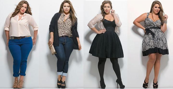 46b014762 Moda Plus Size  Fique linda revelando suas formas - Tudo Ela