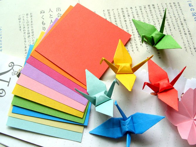 10-10cm-1000-Sheets-Paper-Crane-Origami-DIY-handmade-wedding-gifts