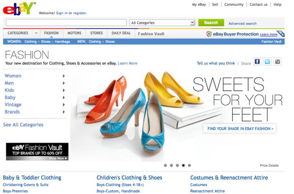 289f5c49d9 O Ebay é uma plataforma que reúne diversos vendedores dos mais variados  ramos