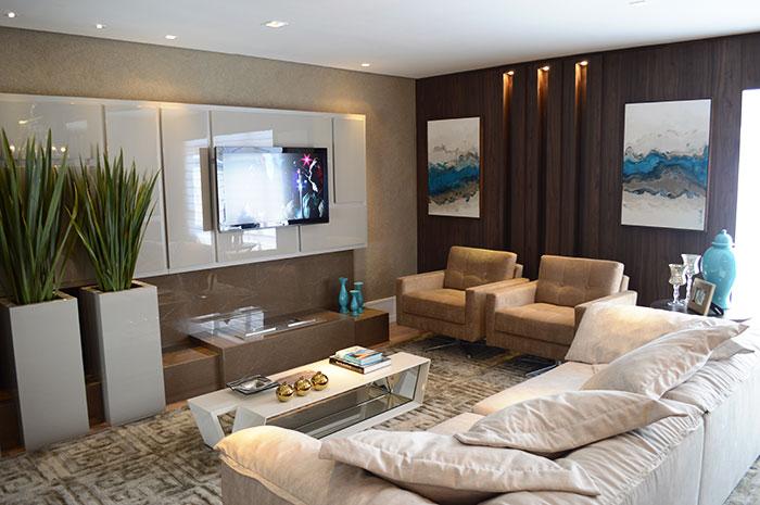 Blog Sala De Tv Terra ~ Sala de tevê decorada confira outras sugestões