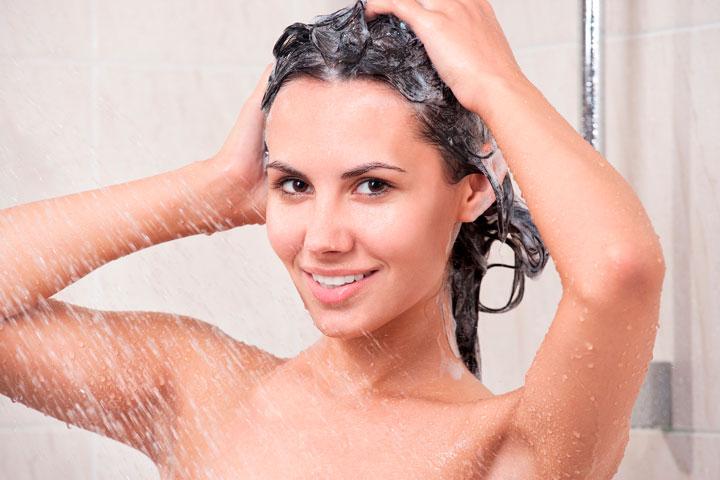 Lavar os cabelos corretamente