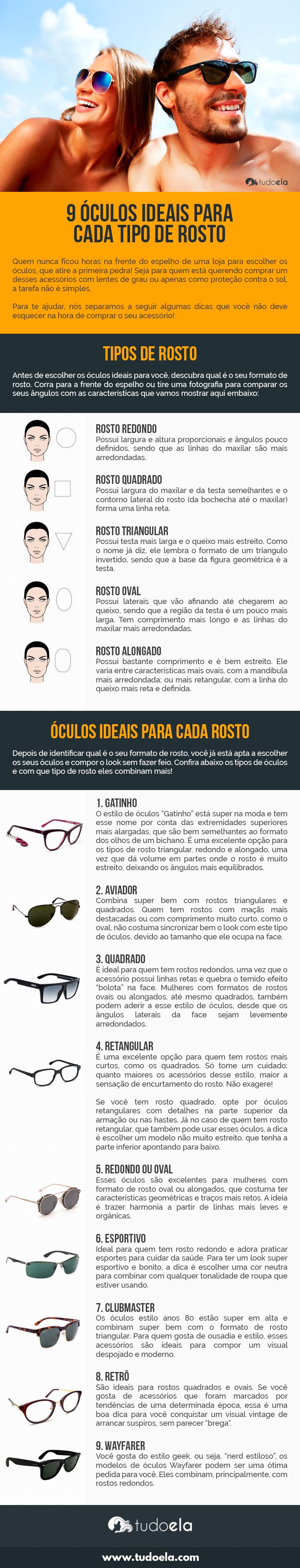 Tipos de óculos