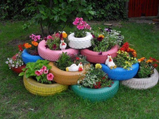 Armario Cama Abatible Matrimonio ~ Ideias de enfeites para jardins, sem gastar muito! Tudo Ela