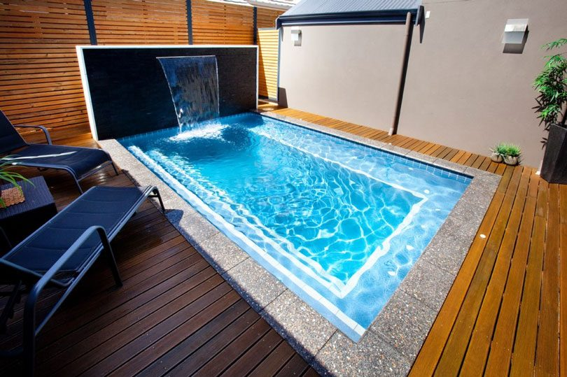 Piscinas pequenas tipos vantagens e dicas tudo ela - Decoracion piscinas pequenas ...