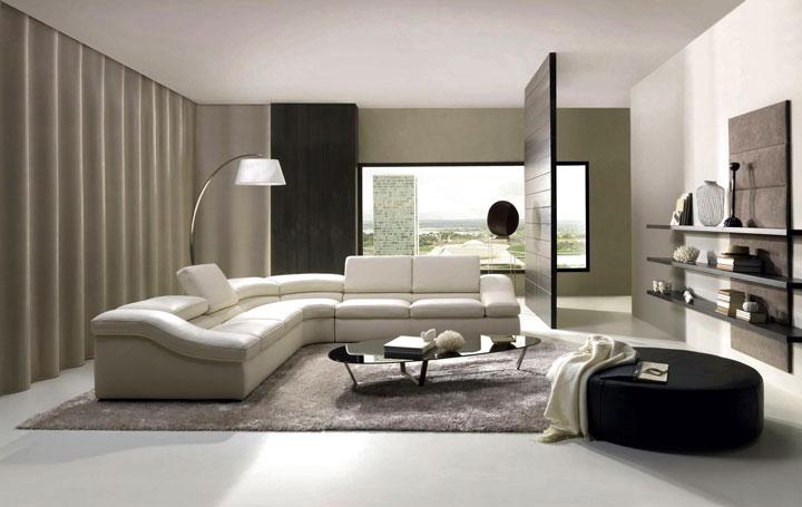 Sofás modernos decoração