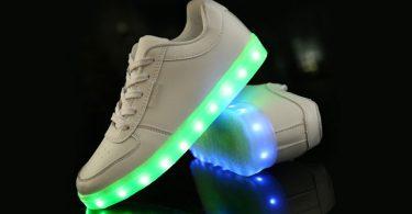 Tênis feminino com LED