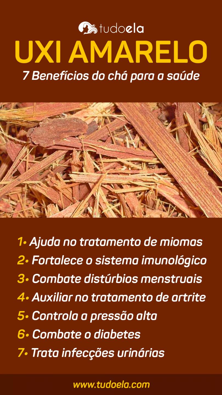 Chá de Uxi Amarelo
