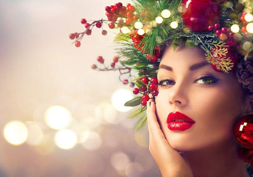 Maquiagem para Natal