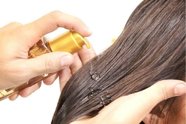 Óleos para passar no cabelo