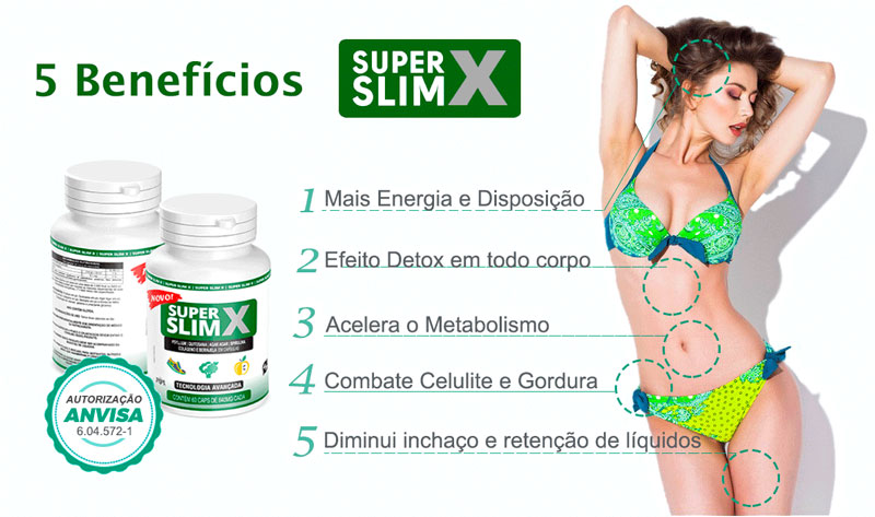 Super Slim X beneficios