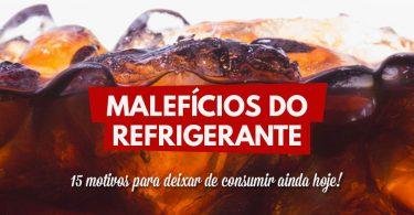 Malefícios do refrigerante