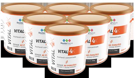 vital 4k frascos