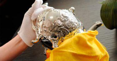 Limpar prata e aço inox