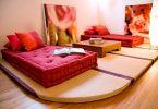 Decoração com futons