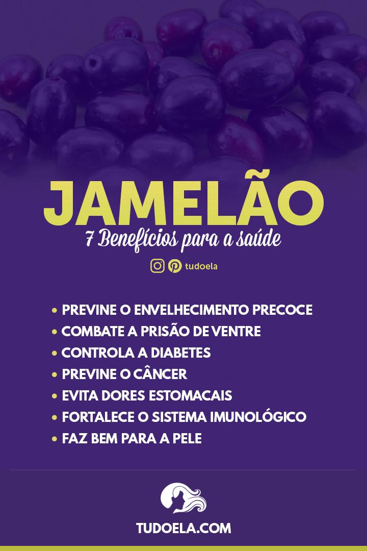 Jamelão: 7 benefícios para a saúde [Infográfico]