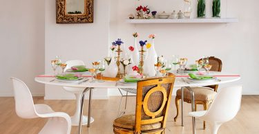 Montar mesa de jantar