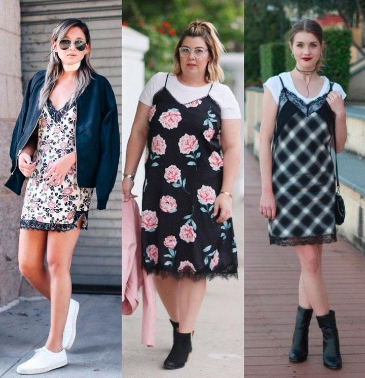 Slip Dress como usar