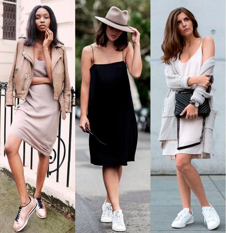 Slip Dress looks