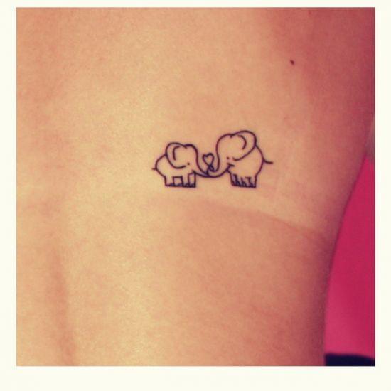 Tatuagens de m e e filha 100 ideias e seus significados for Significado de minimalista