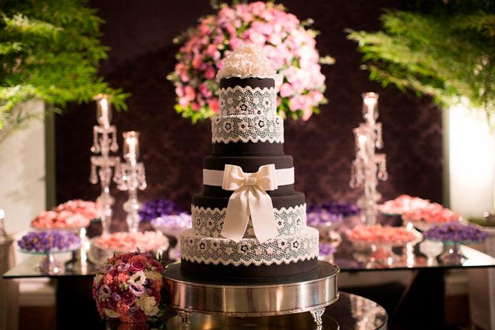 Bolos de casamento decorado