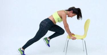 Exercícios com cadeira